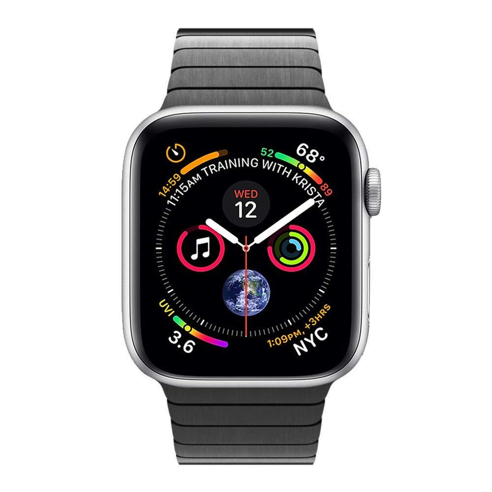 dây đeo thay thế dành cho đồng hồ Apple Watch chất liệu thép không gỉ cao cấp LB