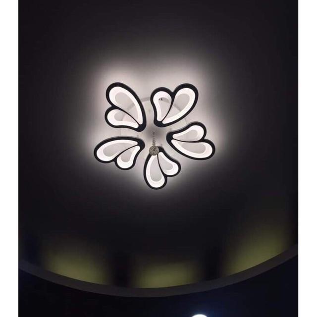 Đèn Ốp Trần Hiện Đại Mã V23-3 Chế Độ Điều Khiển Từ Xa Hiện Đại Sang Trọng Trang Trí Nội Thất Phòng Khách, Phòng Ngủ