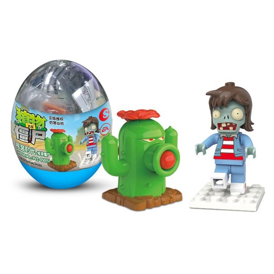 Bộ sưu tầm Trứng - Trái cây đại chiến Zombies 1 Trendysound PVZ-050151