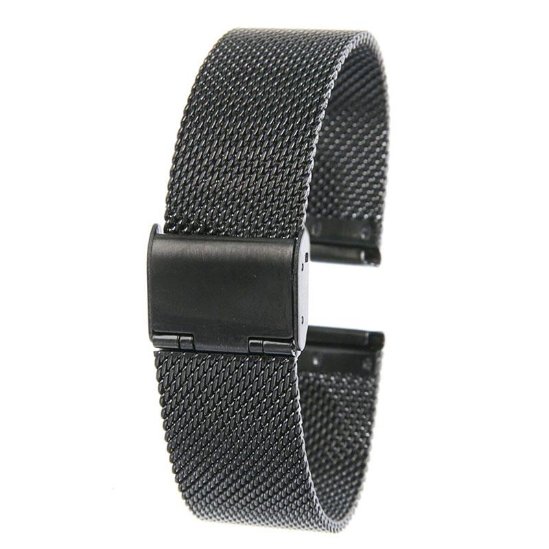 Dây thép lưới chốt gài cho đồng hồ thông minh 18mm, 20mm, 22mm