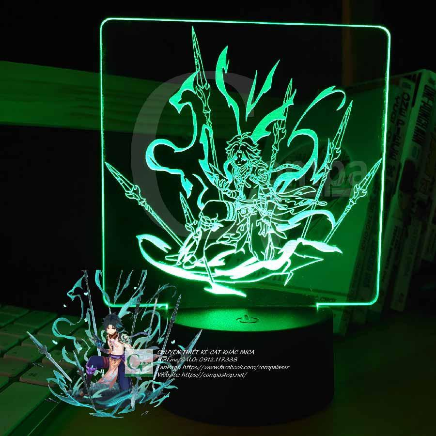 Đèn Ngủ Genshin Impact Xiao Siêu Ngầu Type 03