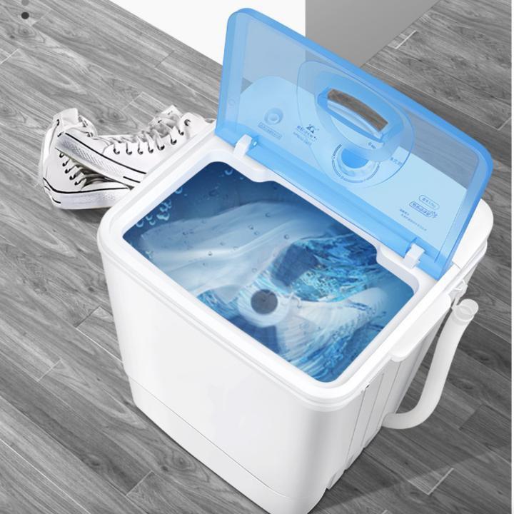 Máy giặt giày cỡ lớn cho gia đình đảo chiều tự động công nghệ mới Dual Brush 260w