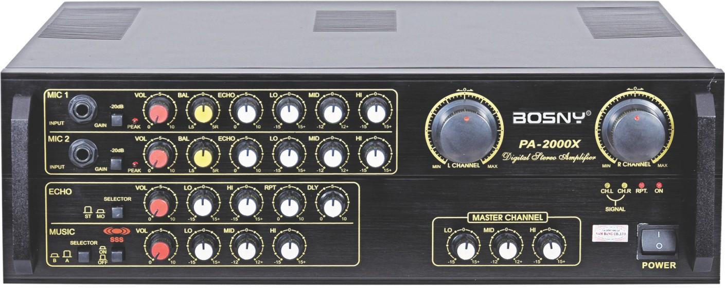 AMPLY BOSNY PA-2000X (Hàng chính hãng)