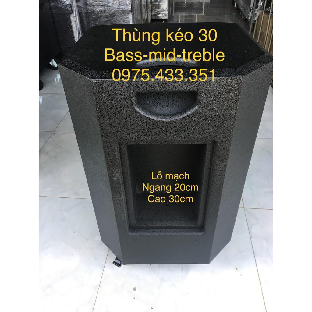Thùng loa kéo bass 30