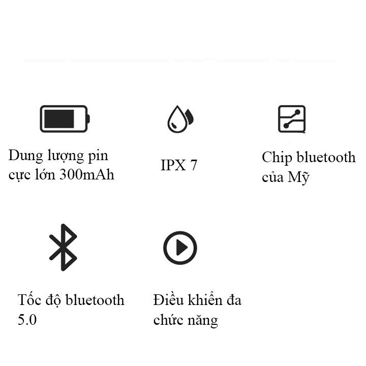 Tai nghe bluetooth nhét tai không dây tai phone bluetooth nghe nhạc X8