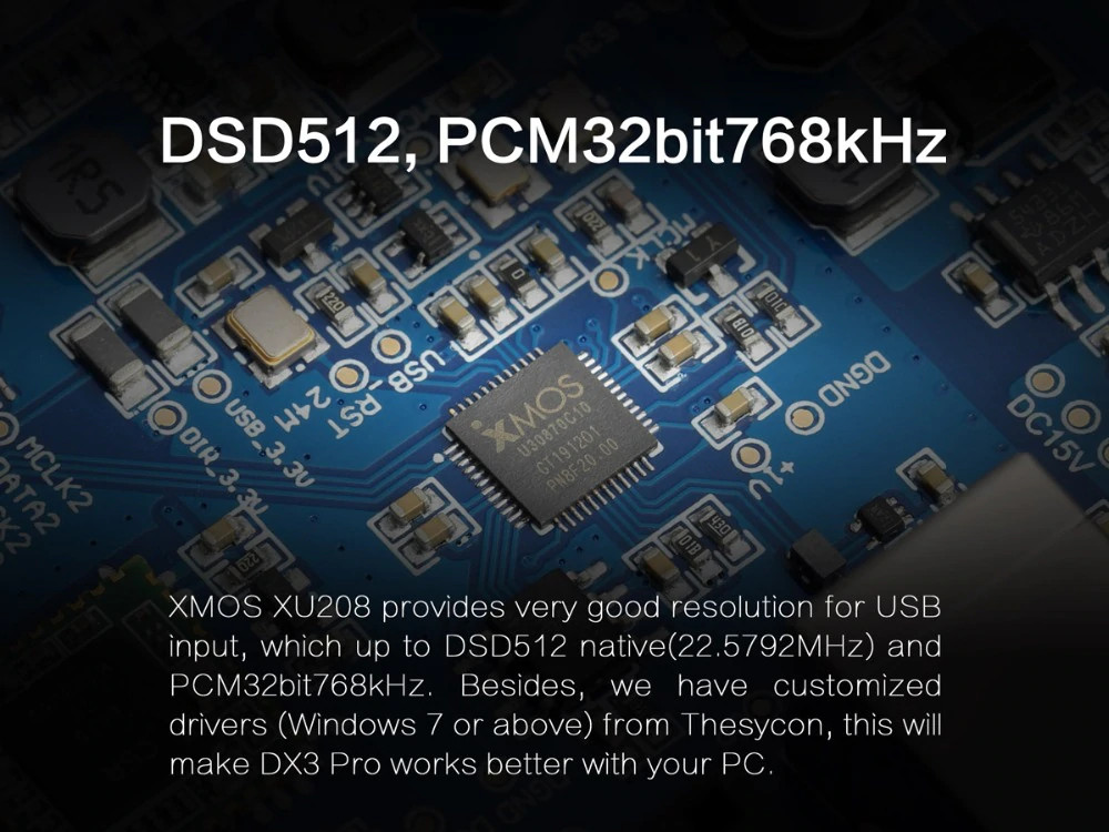 Bộ Giải Mã Âm Thanh Cao Cấp DAC AMP Bluetooth 5.0 TOPPING DX3 Pro - Hàng Chính Hãng