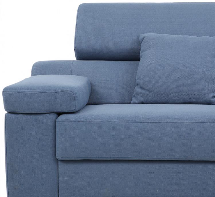 Sofa góc trái Hoàn Mỹ Dream 863/MA-2187 320 x 165 cm