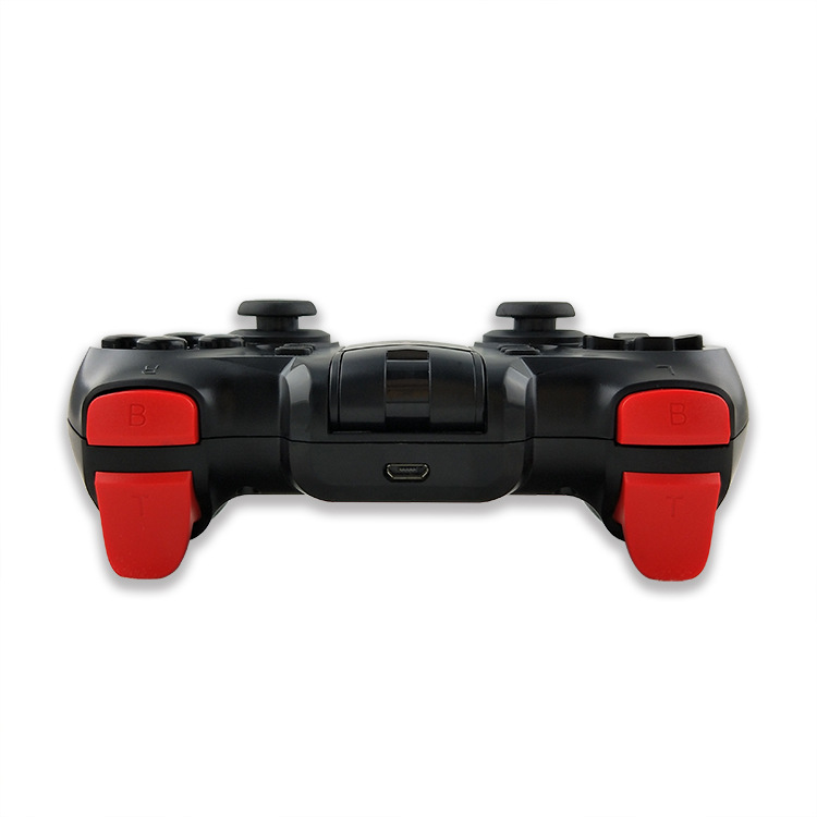 Tay cầm chơi game bluetooth Terios T6 + usb không dây - chơi trên iOS, Android, PC, PS3 (Hàng nhập khẩu)