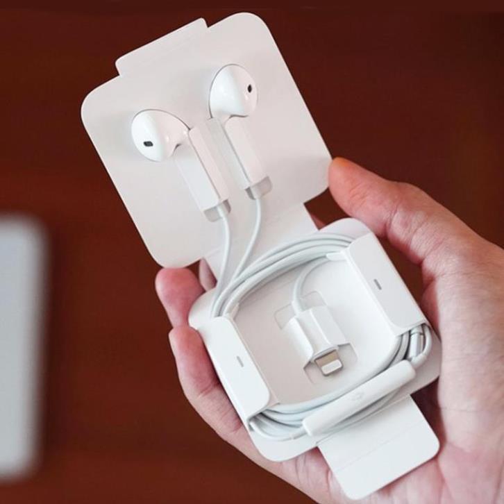 Tai Nghe Cổng Lightning chân dẹp, Giành Cho ip7 đến 12proMax (Hiển Thị Cửa Sổ Tự Kết Nối Bluetooth) bảo hành đổi trả
