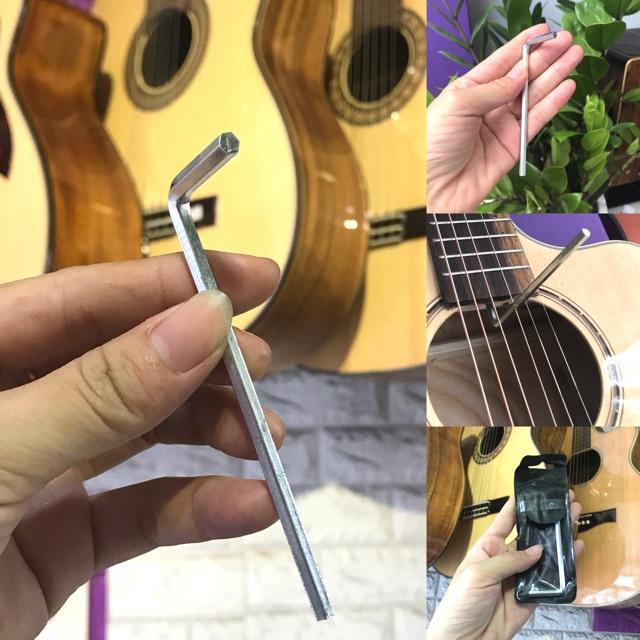 Lục giác chỉnh ty cho đàn guitar - loại thông dụng nhất
