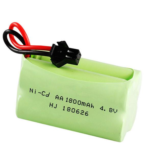 Pin Sạc Dung Lượng Cao 4.8V 1800mAh jack cắm sạc SM