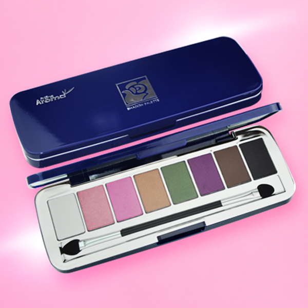 Phấn mắt 8 ô siêu mịn Mira Aroma Shadow Palette 8 Colors Hàn Quốc (2g x8) No.4 tặng kèm móc khoá