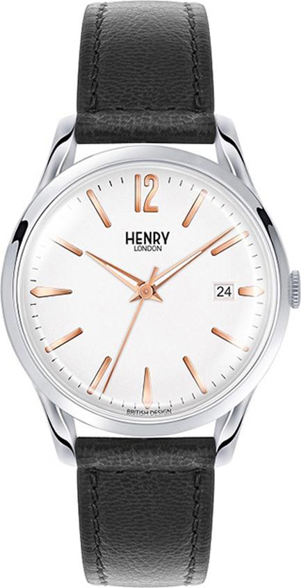 Đồng Hồ Đôi Dây Da Henry London HL39-S-0005 - HL25-S-0113 Highgate