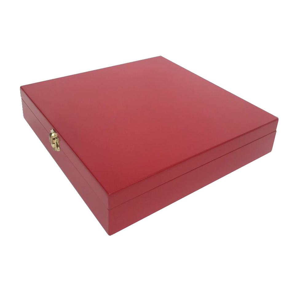 Hộp gỗ để trang sức cưới màu đỏ cao cấp [ TẶNG COMBO 2 MIẾNG KHẮC LASER- TRANG TRÍ HỘP], Hộp chuyên dụng đựng nhẫn cưới, dây chuyền,bông tai, vòng tay tiện dụng, bảo quản tốt trang sức không bị hư hỏng móp méo