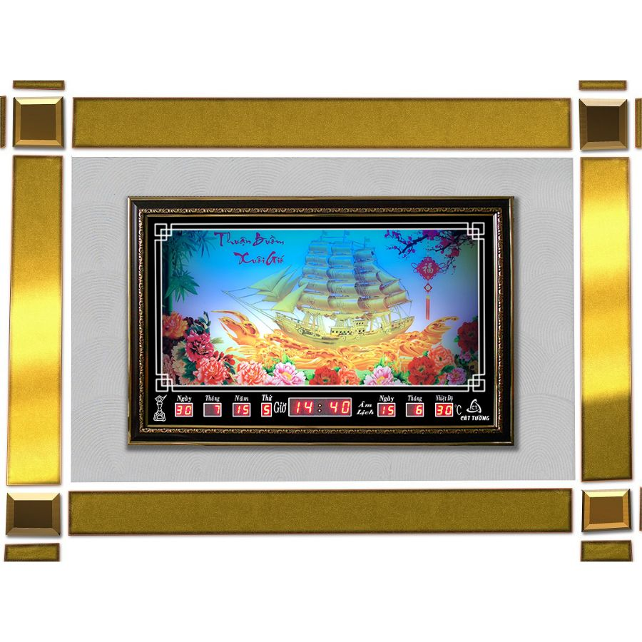 Đồng hồ lịch vạn niên Cát Tường 68437