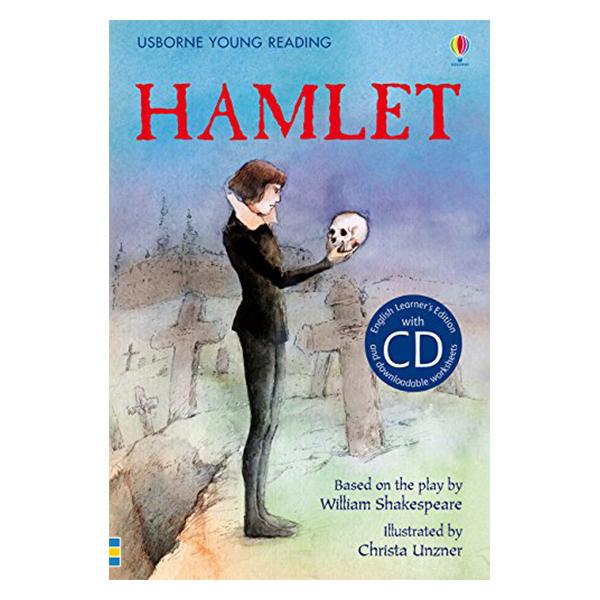 Usborne English Learners' Editions: Hamlet + CD