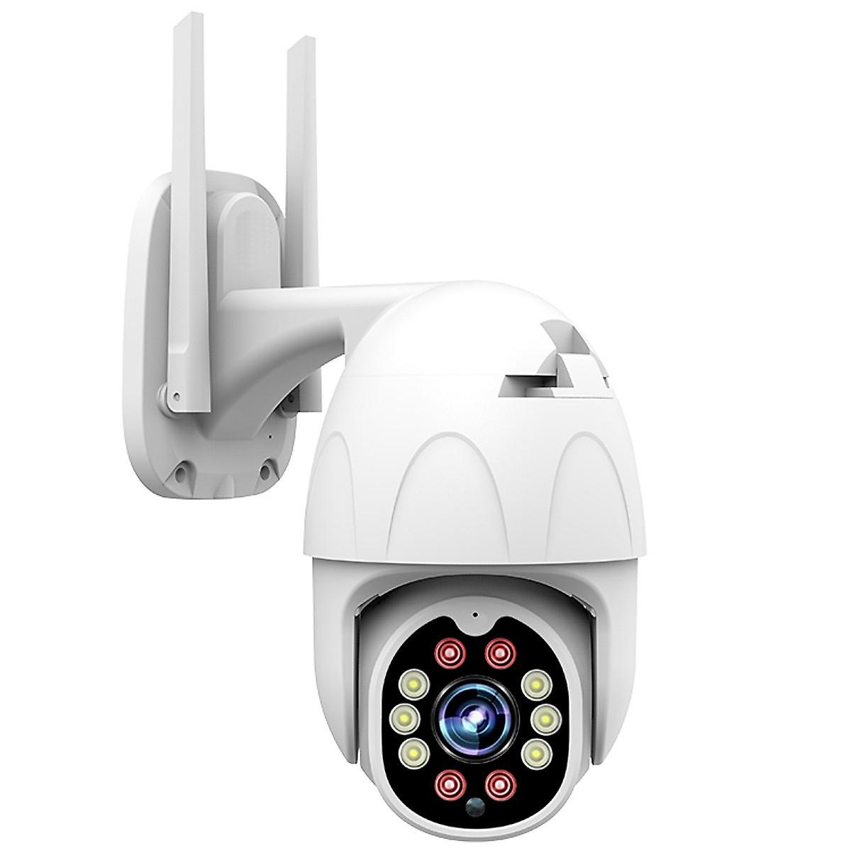 Camera IP Wifi ngoài trời Yoosee PTZ 10 Led Full HD 1080P, đàm thoại 2 chiều, xoay 360 độ - Phiên bản 2020 -  Hàng Nhập Khẩu
