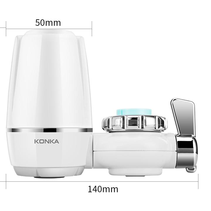 Bộ lọc nước Konka KPW - LT01 lọc sạch nước an toàn không mùi clo, công nghệ 9 màng lọc, máy lắp trực tiếp tại vòi nước -Hàng nhập khẩu