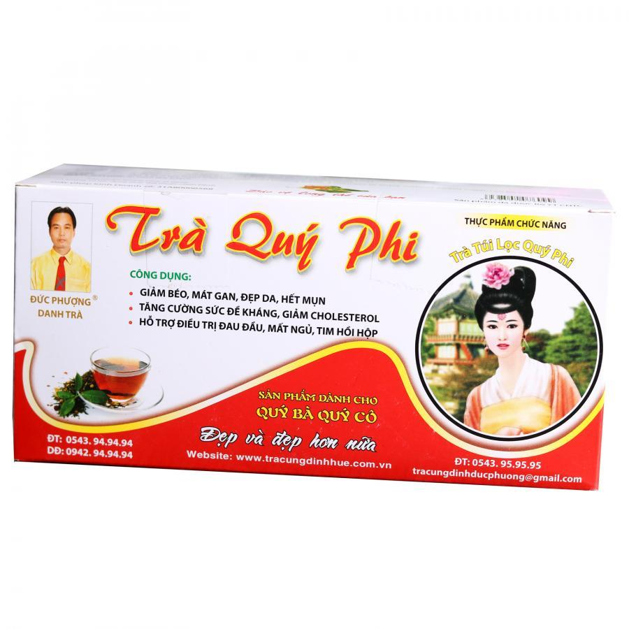 Trà Quí Phi Túi Học - trà Cung Đình Huế - 30 túi / hộp