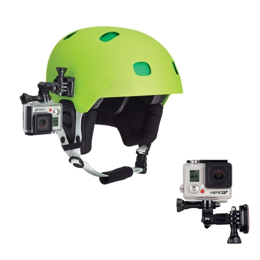 Mount gắn máy quay Gopro, Osmo action bên má nón bảo hiểm
