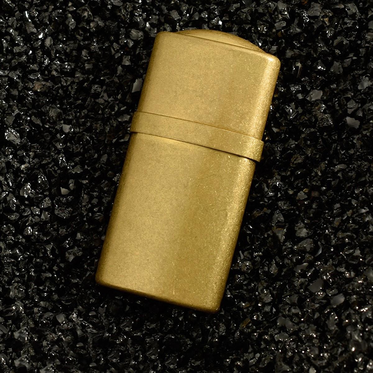 Hột Quẹt Bật Lửa Xăng Đá Z521 Bằng Đồng Nguyên Chất Cao Cấp