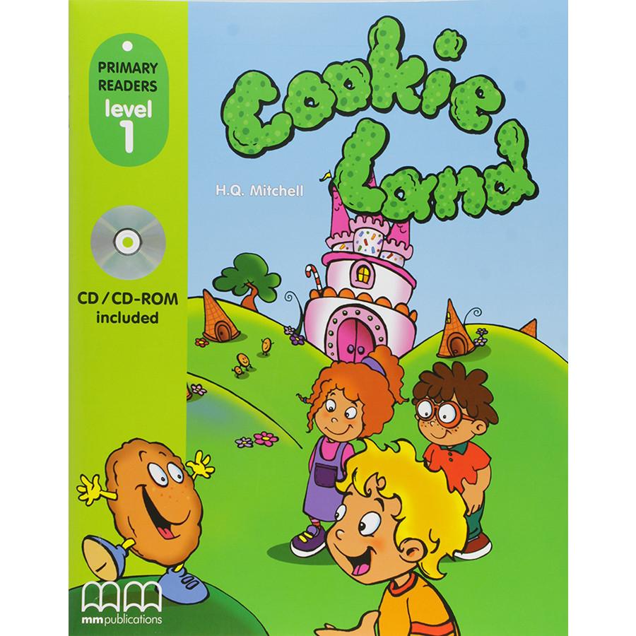 MM Publications: Truyện luyện đọc tiếng Anh theo trình độ - Cookie Land with CD Rom