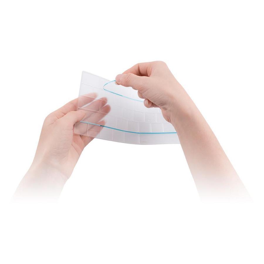 Phủ Phím JCPAL Fitskin TPU Cho Macbook Air 13/Retina 13/15/17 - Clear - Hàng Chính Hãng