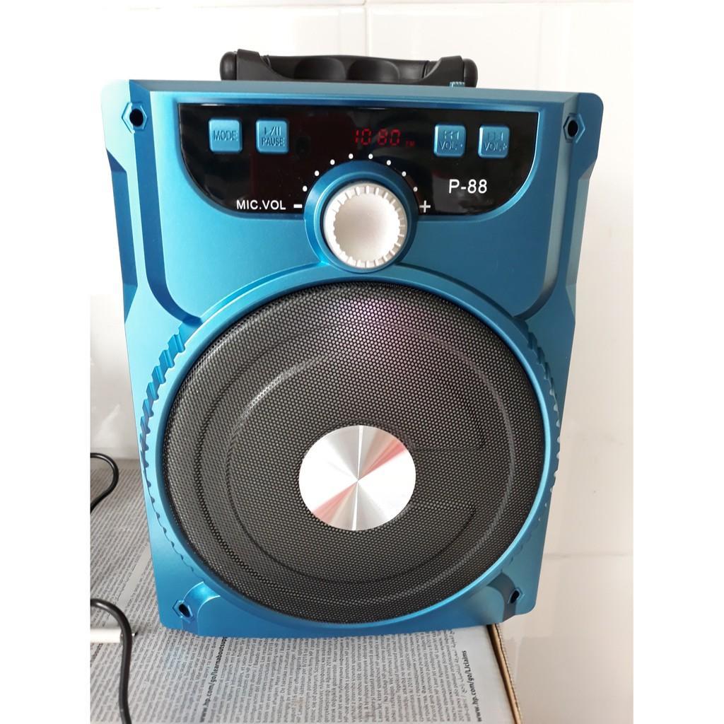 Loa kéo BLUETOOTH P88/P89 tặng kèm 1 Micro hát ấm giọng hay