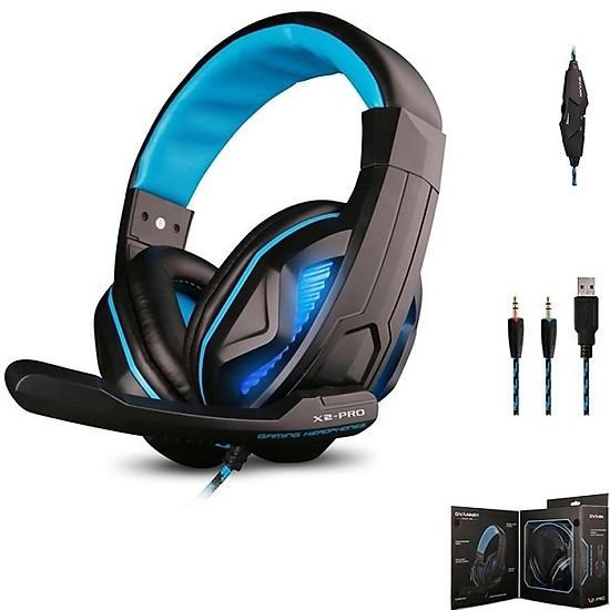 Tai nghe Gaming X2 pro tích hợp micro có led GP - Màu ngẫu nhiên - Hàng chính hãng