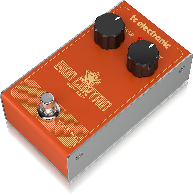TC Electronic Iron Curtain Noise Gate Guitar Effects Pedal-Hàng Chính Hãng