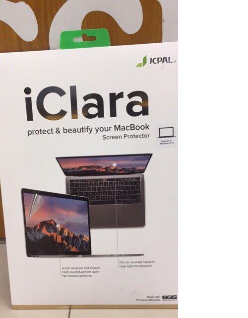 """Miếng dán bảo vệ màn hình cho MacBook Air 13"""" ( 2016 trở về trước) hiệu JCPAL iClara (hàng nhập khẩu)"""