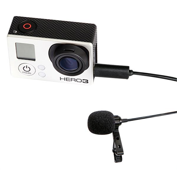 Micro Cài Áo Cho Camera Action Boya BY-LM20 - Hàng Chính Hãng