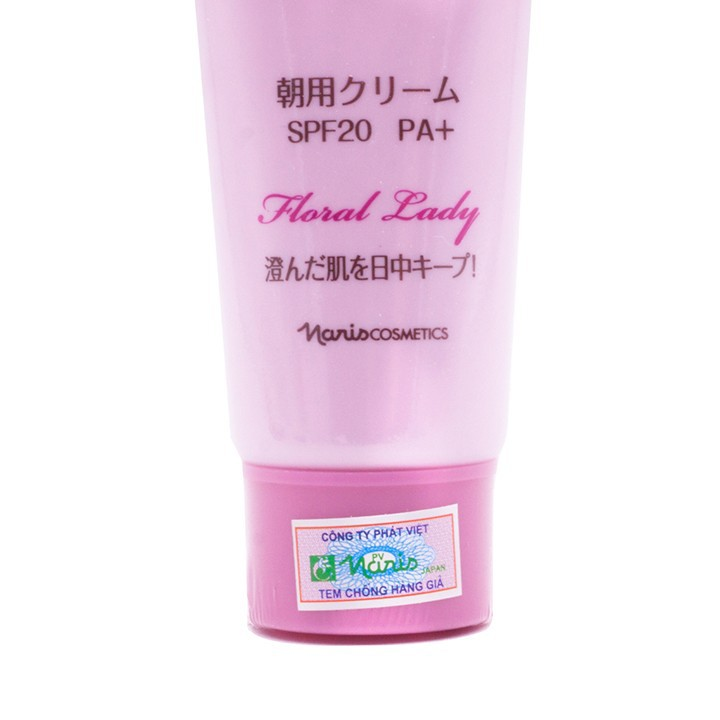 Kem ngày Naris Floral Lady Day Cream Nhật Bản 50g + Móc khóa
