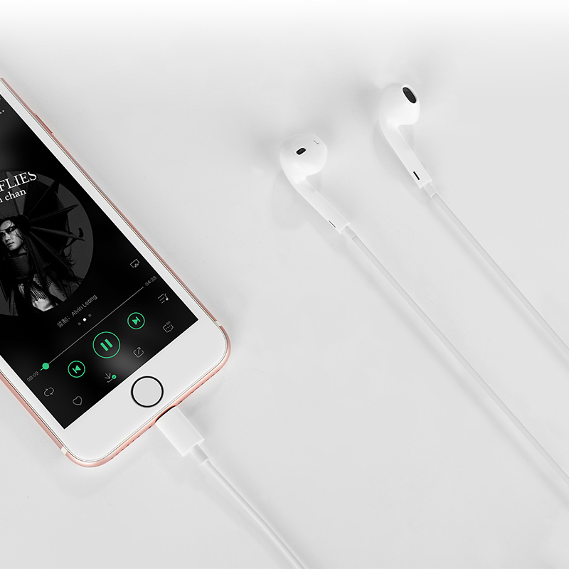Tai Nghe IPhone Hoco 7L - Lightning  - Hàng Chính Hãng