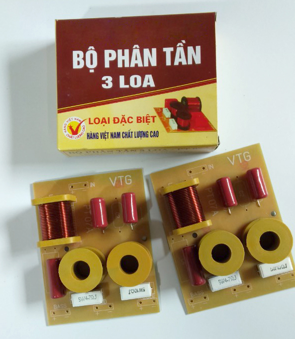 Mạch Phân Tần 3 Loa PT 07A-Bộ 2 Cái