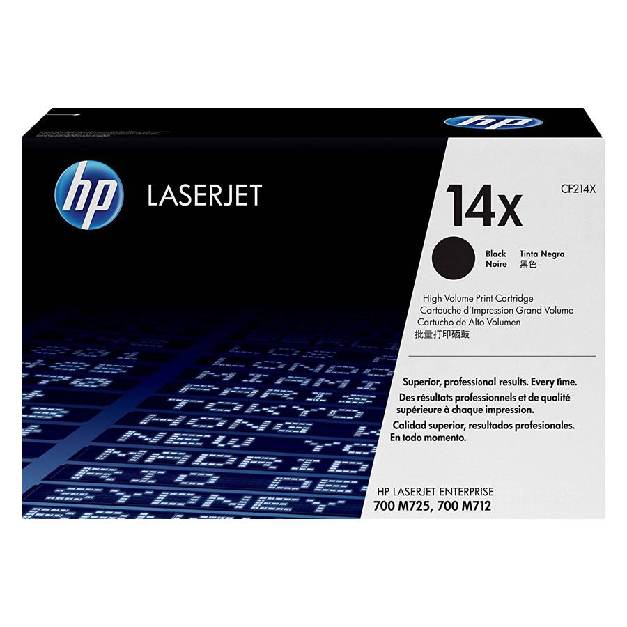 Mực In HP CF214X (HP 14X) Cho Máy In HP M725dn, HP M725f, HP M725z, HP M712dn, HP M712n, HP M712xh, HP M725z+ - Hàng Chính Hãng