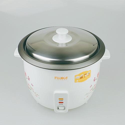 Nồi Cơm Điện 1.8L Nắp Rời Fujika FJ-NC1801 Công Suất 700W Cho Gia Đình 4 - 6 Người Ăn-Hàng Chính Hãng