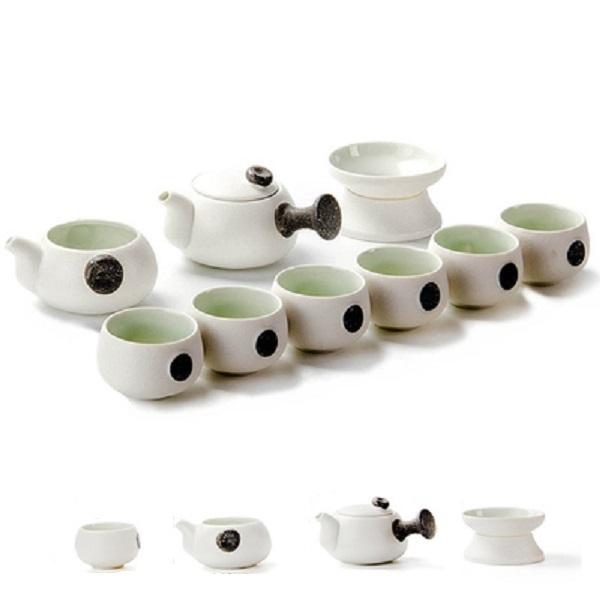 Bộ ấm chén pha trà chuôi cầm Nhật Bản sm
