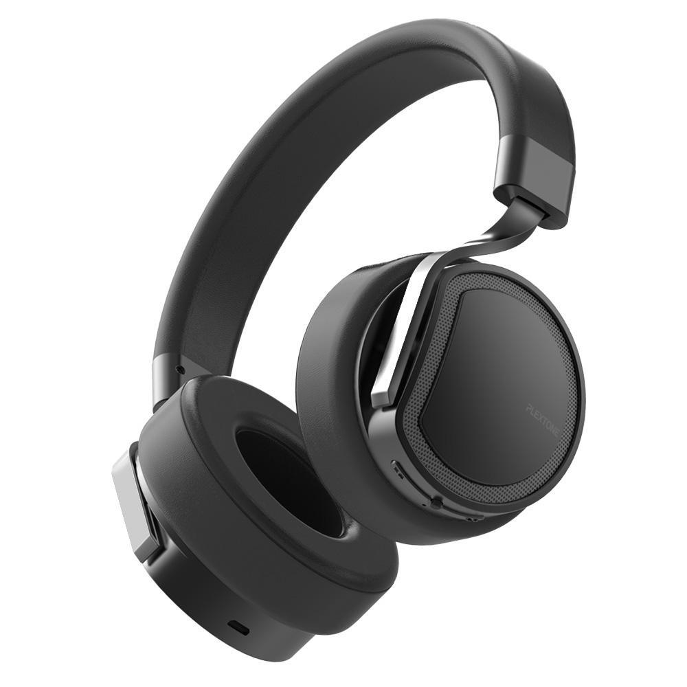 Tai nghe Over ear chụp tai có dây và không dây Bluetooth Plextone BT270  hàng chính