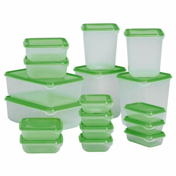 Hộp đựng thực phẩm để tủ lạnh 17 hộp