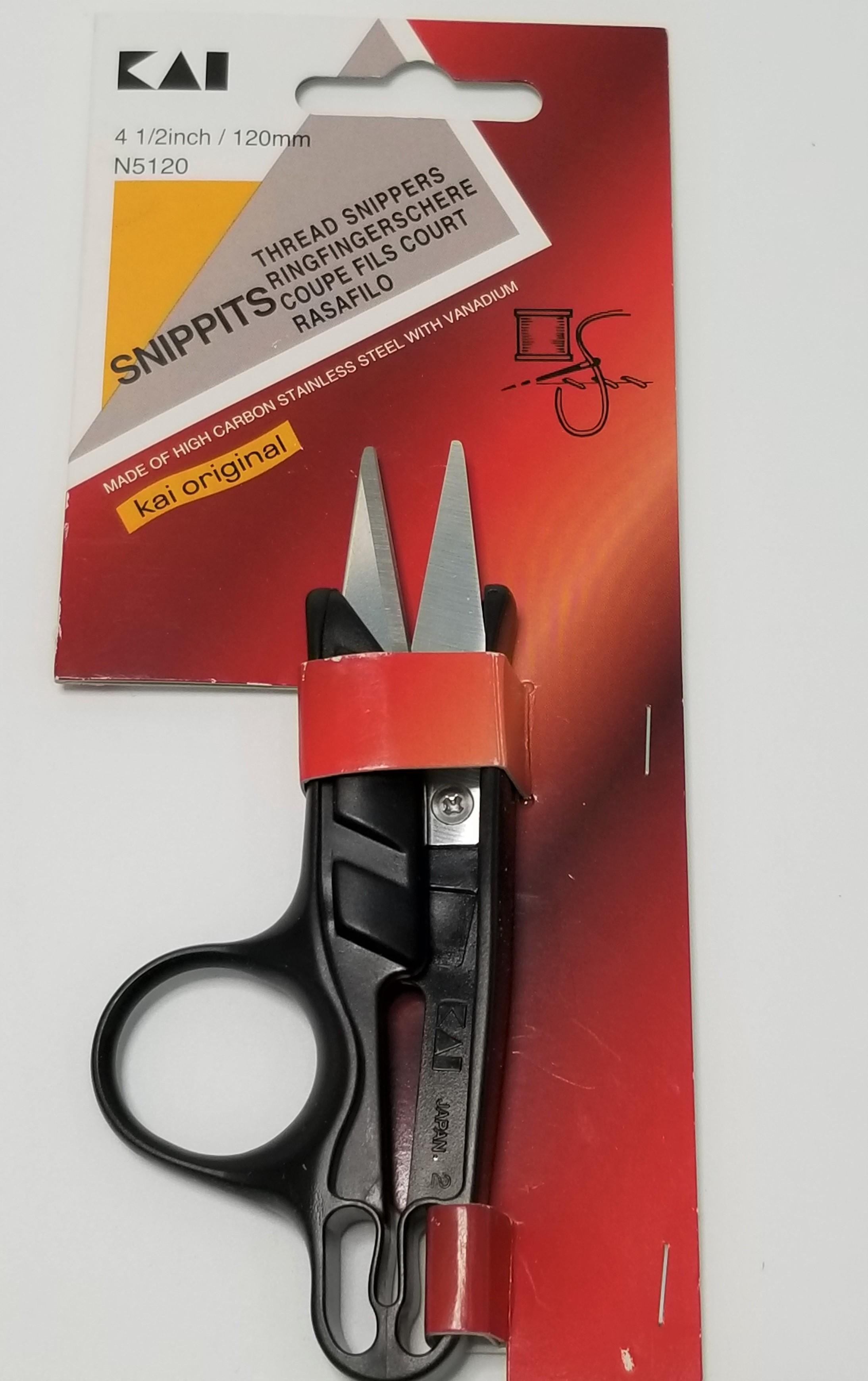 Kéo cắt chỉ cao cấp thương hiệu KAI Nhật Bản N5120 (120mm)