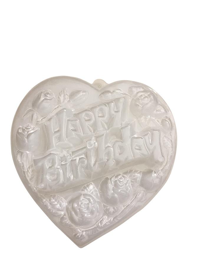Bộ 6 Khuôn Làm Thạch Rau Câu 3D Happy Birthday Nhiều Họa Tiết Bắt Mắt