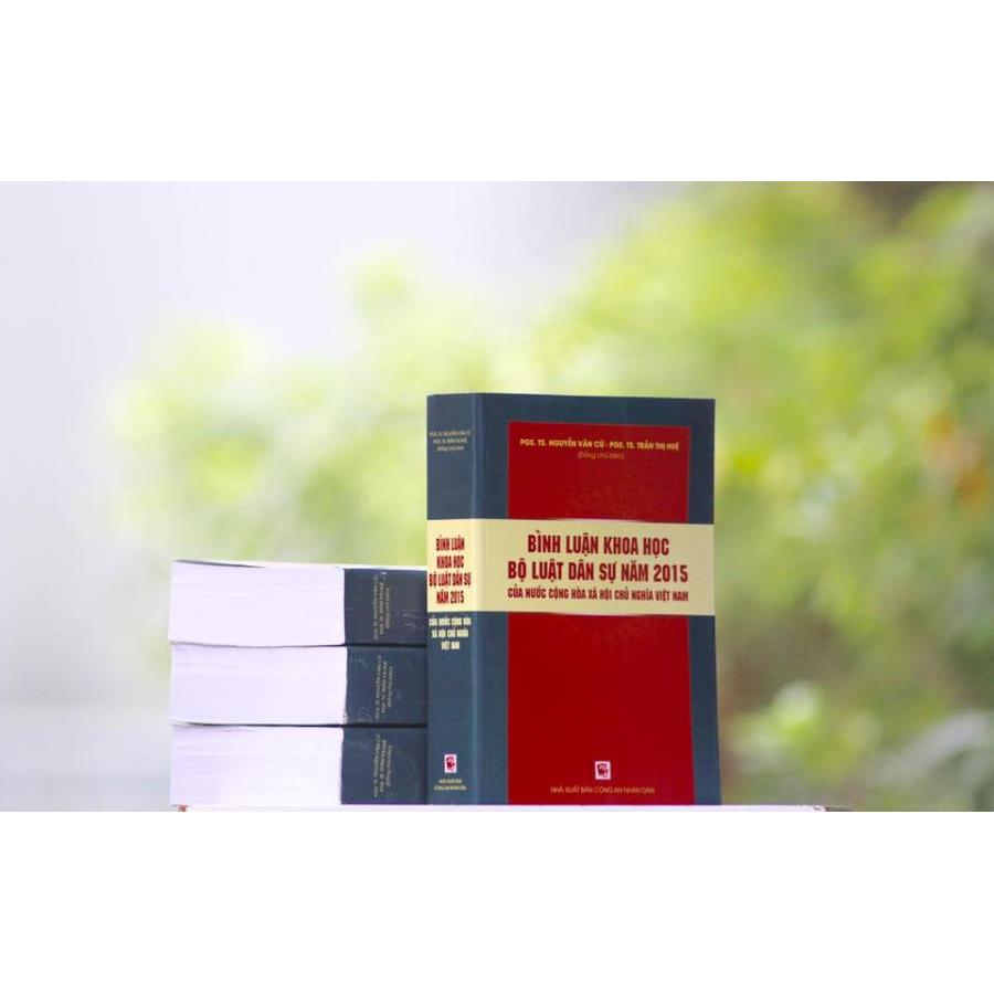 Bình luận khoa học bộ luật dân sự năm 2015