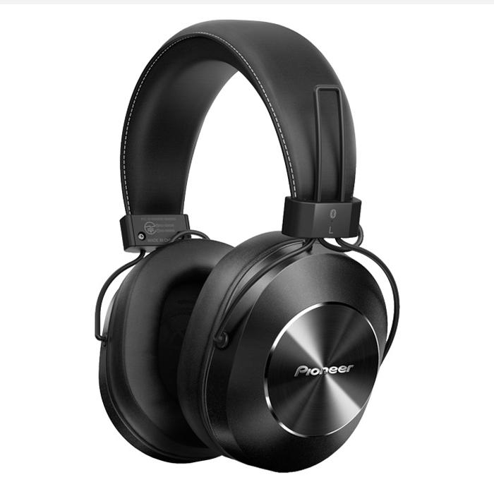 Tai Nghe Bluetooth Chụp Tai Over-ear Pioneer SE-MS7BT Black - Hàng Chính Hãng