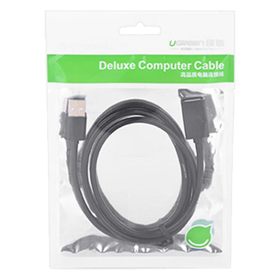Cáp Nối Dài Ugreen USB 2.0 10314 (1m) - Hàng Chính Hãng