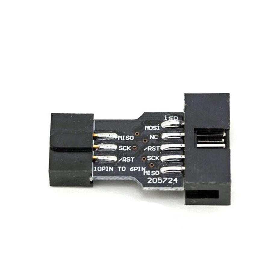Module Socket Chuyển Đổi AVRISP / USBasp / STK500 10 Chân Ra 6 Chân