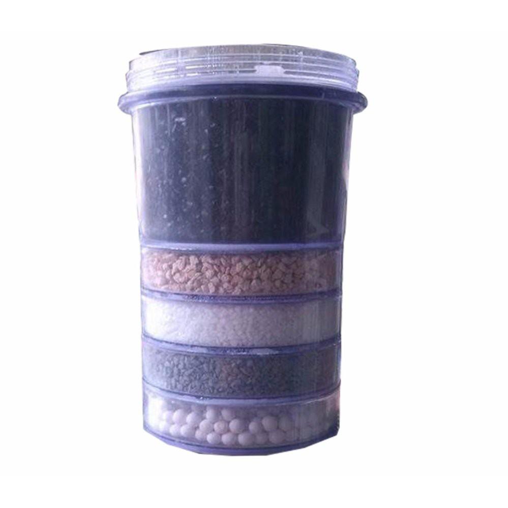 Combo thiết bị thay thế cho bình lọc nước ( nấm sứ, lõi than, đá khoáng, vòi bình lọc)