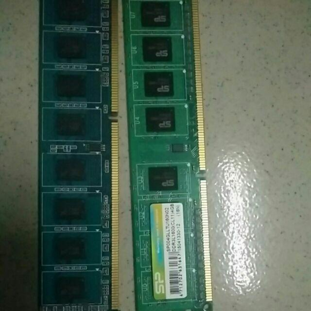 Ram 4g ddr3l buss 1600