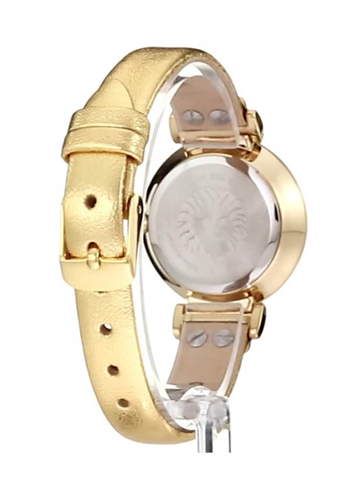 Đồng hồ nữ Anne Klein chính hãng dây da sang trọng mặt kính khoáng (30mm) chịu lực AK/2156CHGD