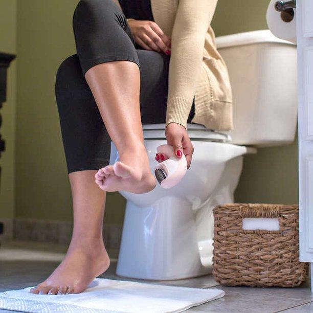 Máy tẩy da chết gót chân siêu mài mòn pin sạc HoMedics PED-1301 (Phiên bản đặc biệt 2021)